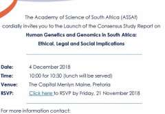 Launch Invitation: Consensus Study Report on Human Genetics and Genomics
