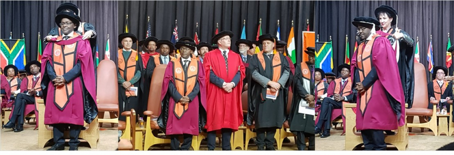 TWAS Executive Director conferred Honorary Doctoral Degree at UJ