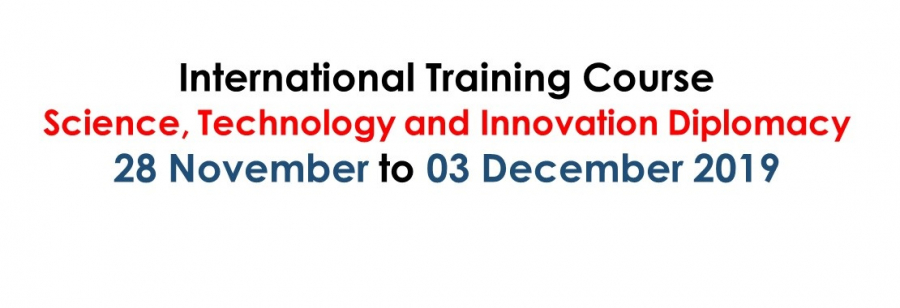 Extended Deadline: International Training Course on STI Diplomacy