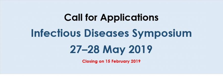 Call for Applications: Infectious Diseases Symposium 27–28 May 2019